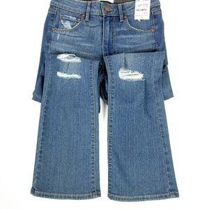 Paige Womens Jeans Jegging Bootcut  Blue Medium
